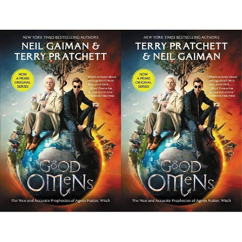 Good Omens : The Nice and Accurate Prophecies of Agnes Nutter, Witch - Reprint (Paperback) - by Neil Gaiman & Terry Pratchett - image 1 of 1