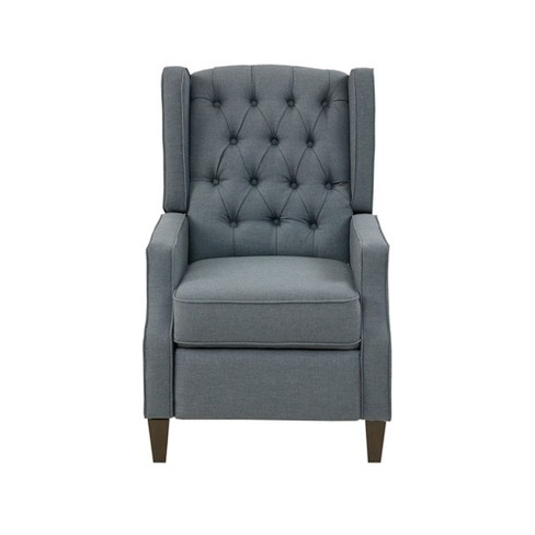 Lyle Recliner Chair Blue - image 1 of 9