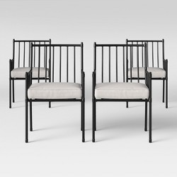 Fernhill Patio Dining Chair White - Threshold™