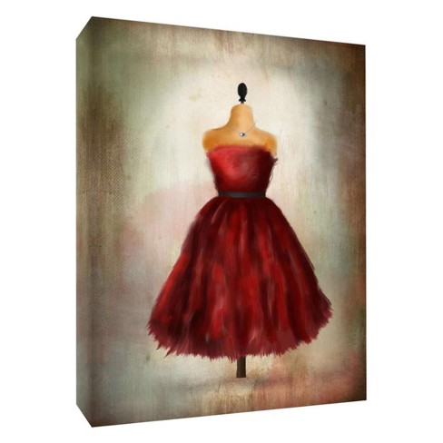 """Prom Dress Decorative Canvas Wall Art 11""""x14"""" - PTM Images - image 1 of 1"""