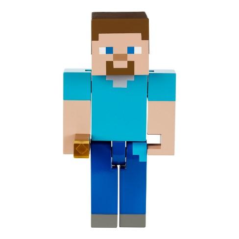 Minecraft Torch Sparking Steve Light Up Figure