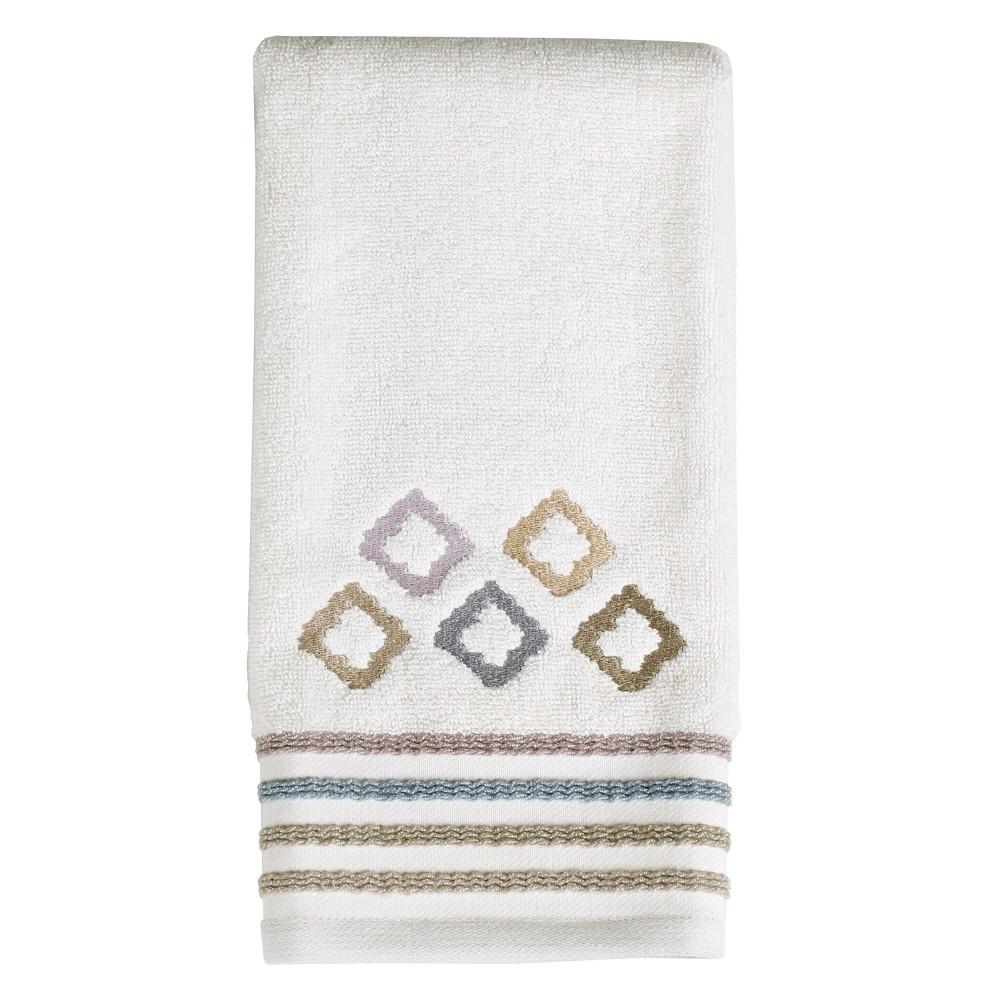 Davidson Embroidered Hand Towel Dark Taupe - Saturday Knight Ltd.