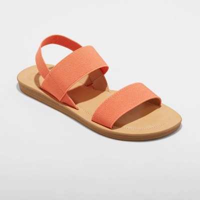 Women's Adelaide Elastic Ankle Strap Sandals - Universal Thread™