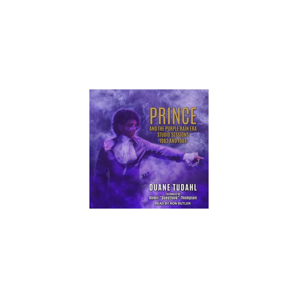 Prince and the Purple Rain Era Studio Sessions : 1983 and 1984 - by Duane Tudahl (MP3-CD)