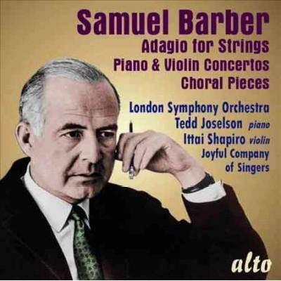 London Symphony Orchestra - Barber: Adagio for Strings/Piano & Violin Concerto (CD)