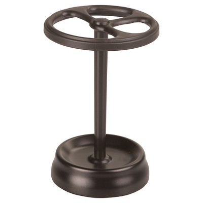 Round Toothbrush Holder Stand Bronze - iDESIGN