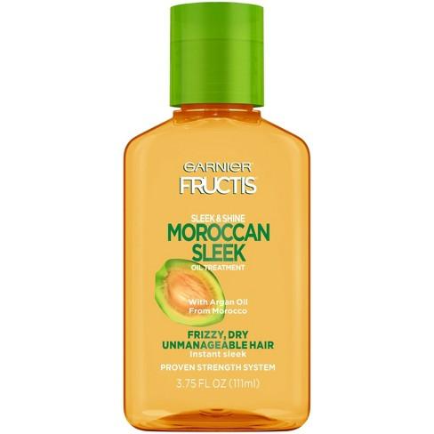 Garnier Fructis Sleek & Shine Moroccan Sleek Oil Treatment - 3.75 fl oz - image 1 of 4