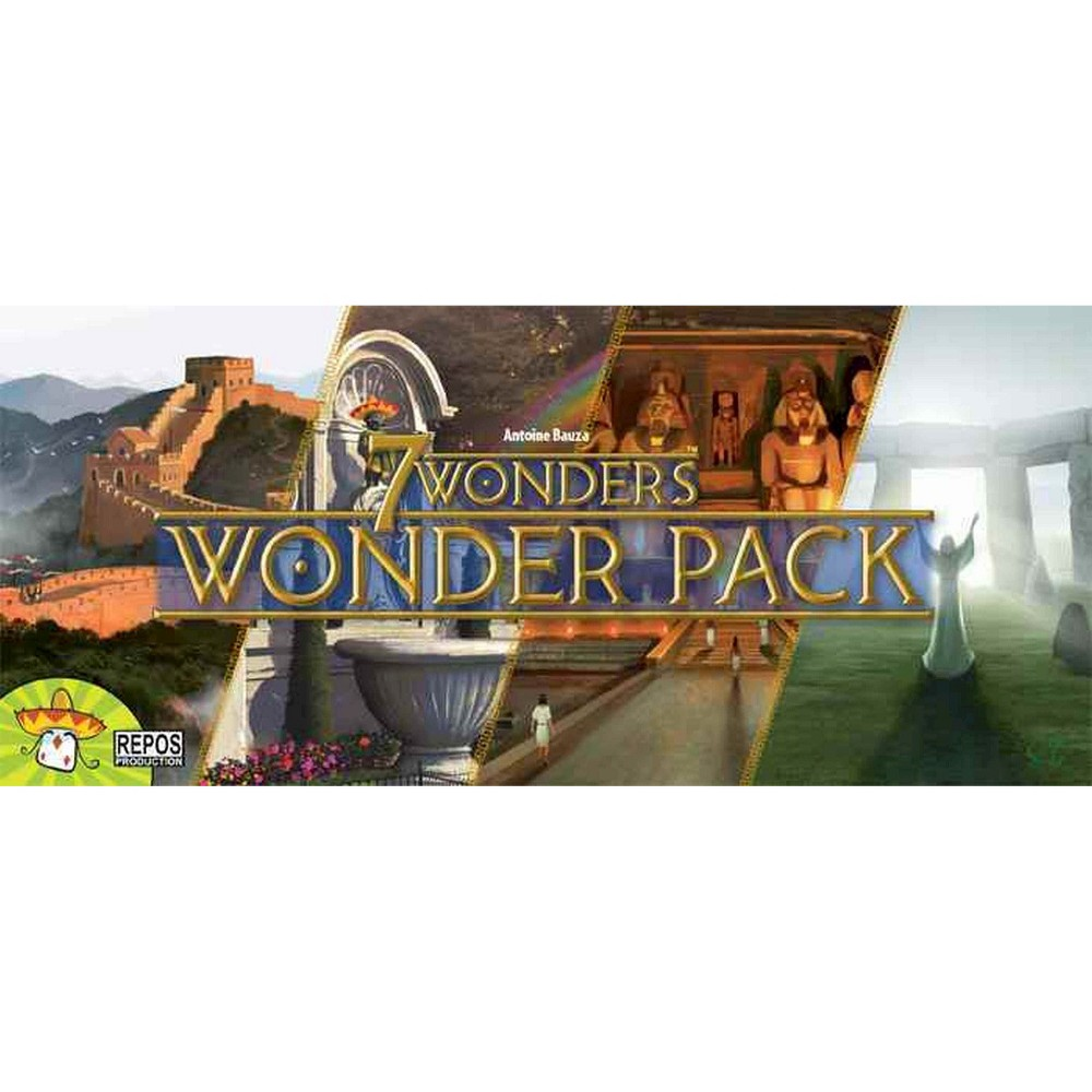 7 Wonders Strategy Game Wonder Expansion Pack, Kids Unisex