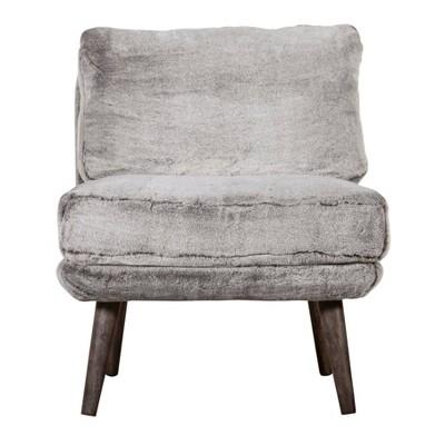 Sophie Armless Slipper Chair - Adore Décor