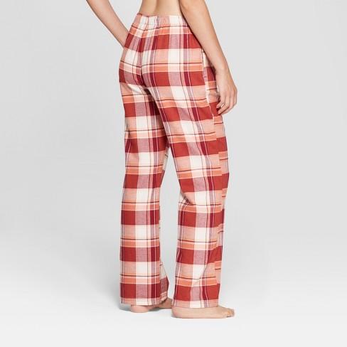 18e1f037dcd9 Women s Plaid Flannel Pajama Pants - Gilligan   O Malley™ Burgundy S ...