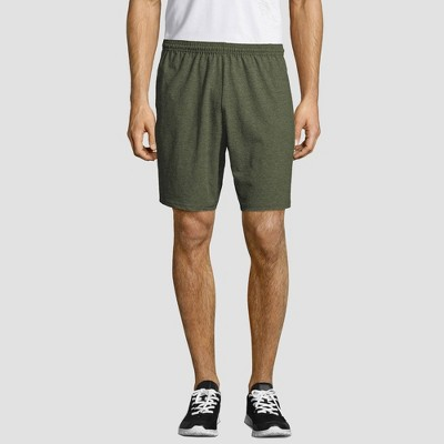 "Hanes Men's 7"" Jersey Shorts"