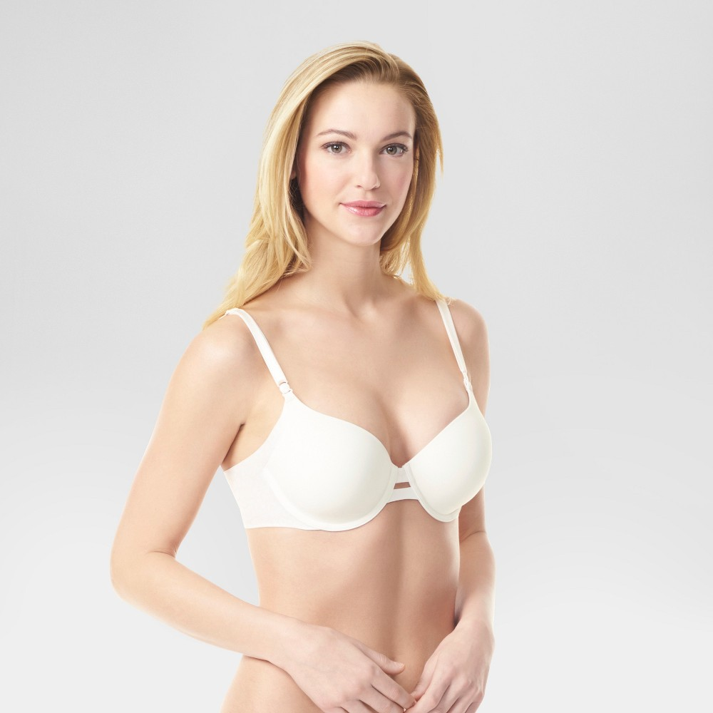 Simply Perfect by Warner's Women's Animal Print Underarm Smoothing Convertible Underwire Bra - Beige 36B