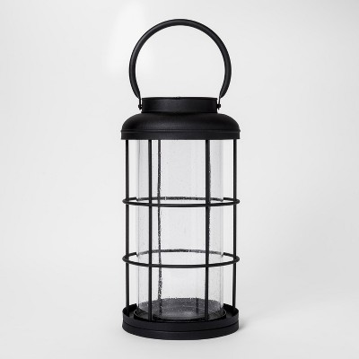 Metal Lantern Medium - Black - Smith & Hawken™
