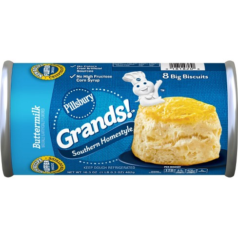 Pillsbury Grands! Southern Homestyle Buttermilk Biscuits - 16.3oz/8ct - image 1 of 3