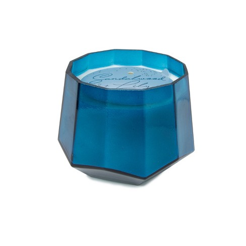 12oz Dodeca Glass Jar 3-Wick Candle Sandalwood & Lilly - Project 62™ - image 1 of 3