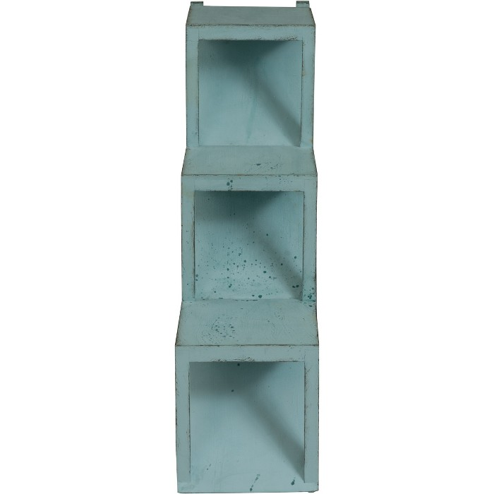Contemporary Stair Step Accent Table Blue - Treasure Trove - image 1 of 4