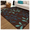 """Orian Rugs Dazzling Promise Transitional Area Rug - Brown (5'2"""" x 7'6"""") - image 3 of 4"""