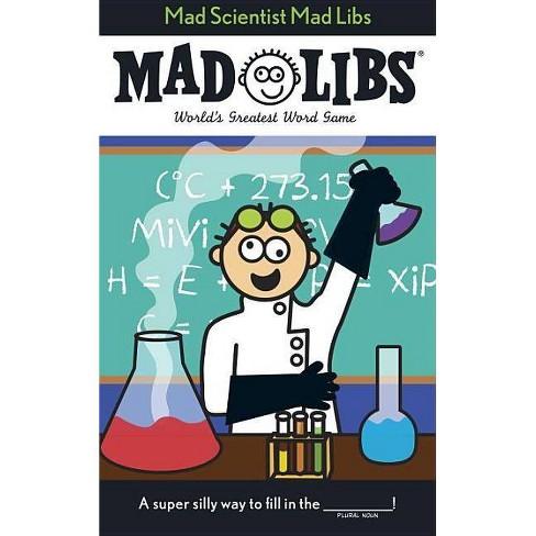 Mad Scientist Mad Libs - (Paperback) - image 1 of 1