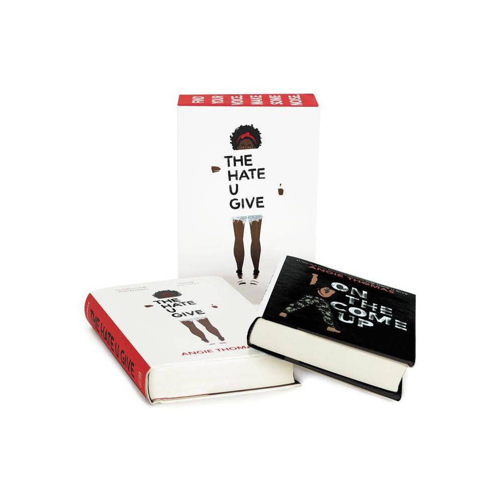 Angie Thomas Set : The Hate U Give and on the Come Up - (Hardcover) Angie Thomas Set : The Hate U Give and on the Come Up - (Hardcover)