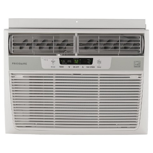 Frigidaire - 10000-BTU 115V Window-Mounted Compact Air Conditioner with Temperature Sensing Remote - White - image 1 of 5