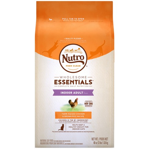 Nutro Indoor Adult Chicken Dry Cat Food - image 1 of 4