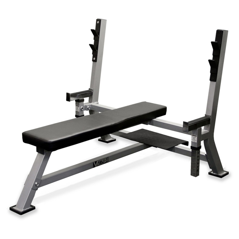 Valor Fitness BF-48 Olympic Weight Bench, Black