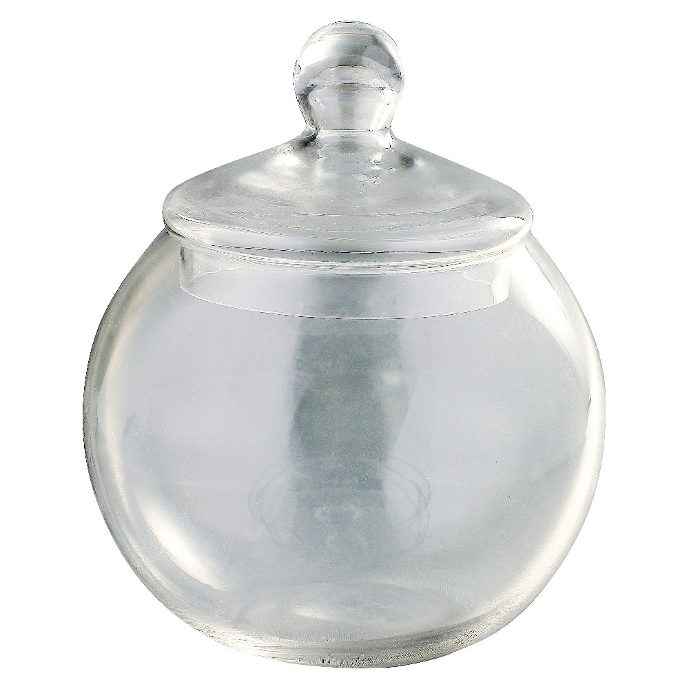 Diamond Star Glass Apothecary Jar Clear (9.5x8)