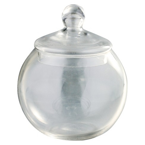 "Diamond Star Glass Apothecary Jar Clear (9.5""x8"") - image 1 of 1"