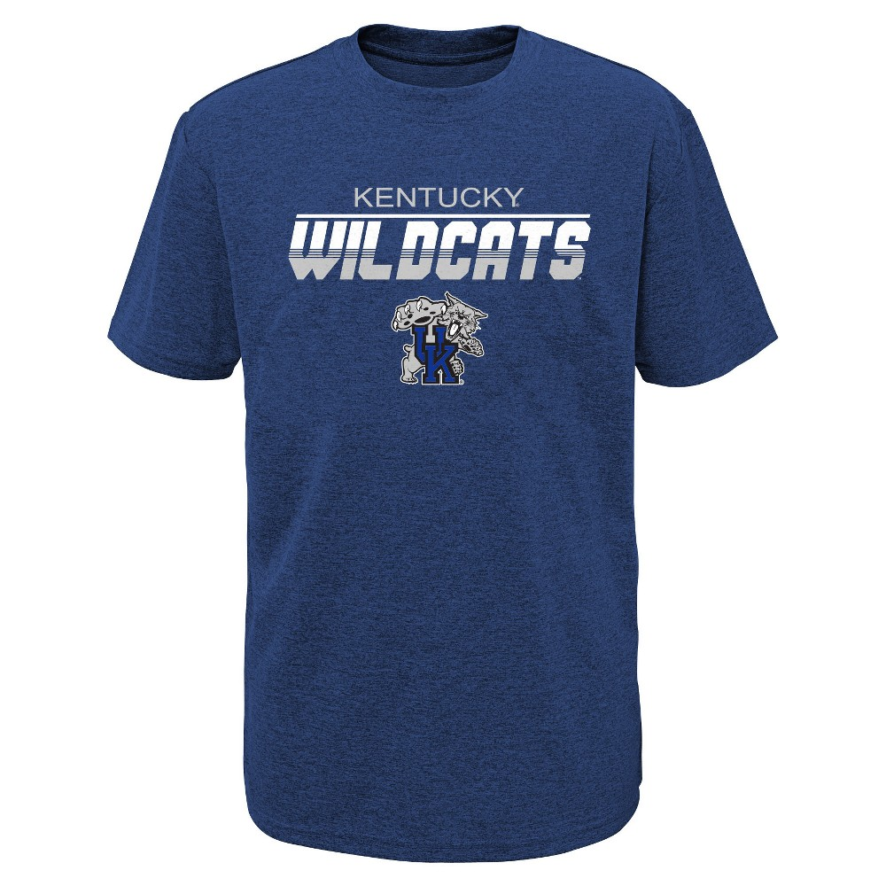 Kentucky Wildcats Boys' Short Sleeve Activewear T-Shirt - M, Multicolored