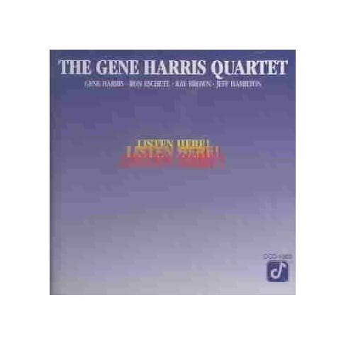 Gene Harris - Listen Here (CD) - image 1 of 1