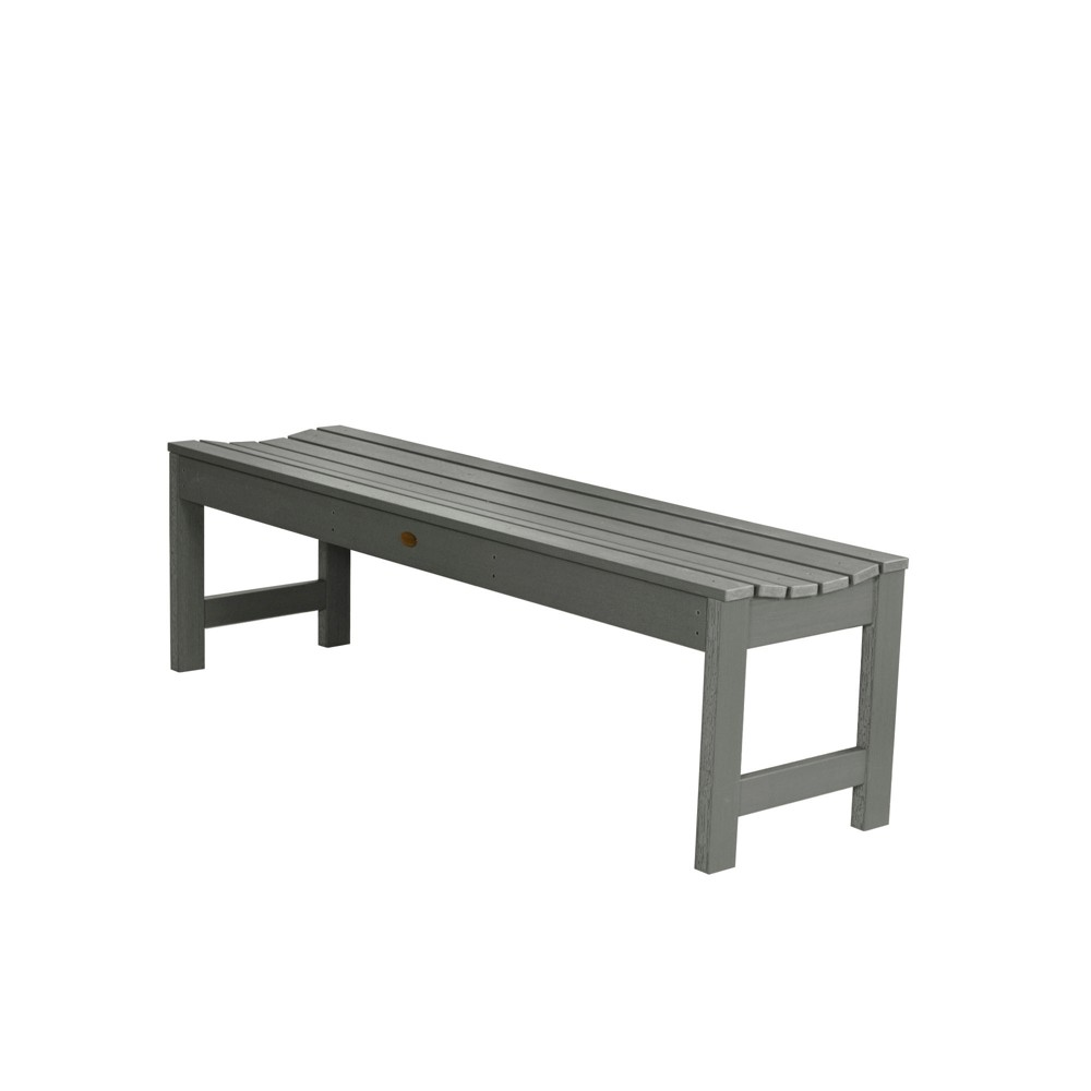 Lehigh Picnic Bench 5Ft Coastal Teak Gray- Highwood, Coastal Teak Gray