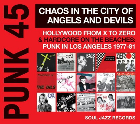 Various - Punk 45:Chaos in the city of angels a (Vinyl) - image 1 of 1