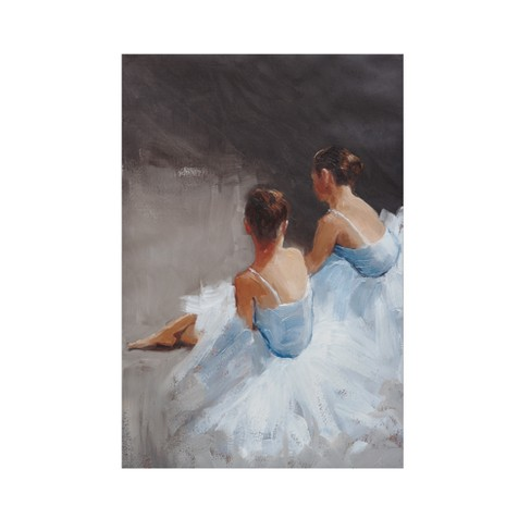 Dance with Me Hand Embellished Unframed Wall Canvas - image 1 of 4