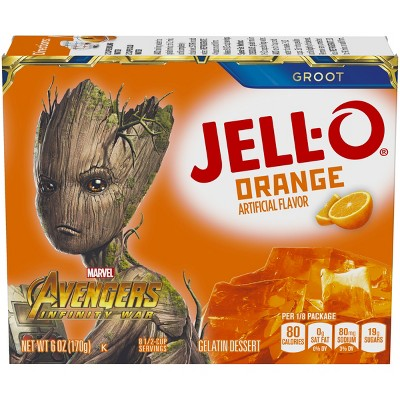 JELL-O Orange Gelatin - 6oz