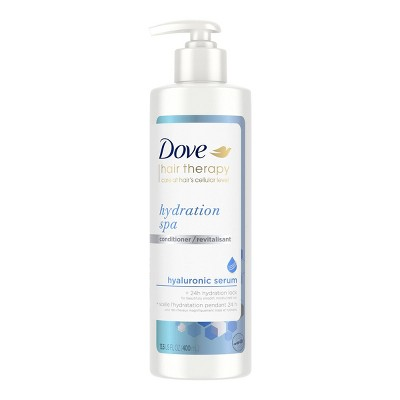 Dove Beauty Hair Therapy Hydration Spa with Hyaluronic Serum Moisturizing Conditioner - 13.5 fl oz