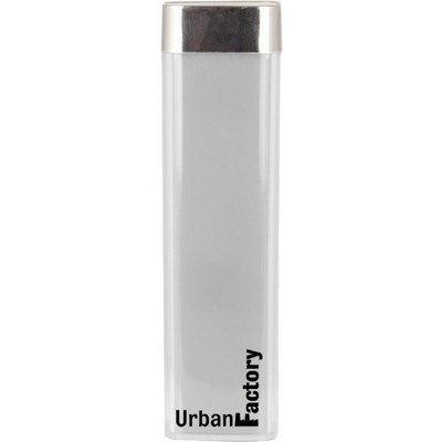 Urban Factory Emergency Battery - Power Lipstick - For iPhone, Smartphone, GPS Device, PSP, USB Device, Action Camera - 3000 mAh - 1 A - 5 V DC Output