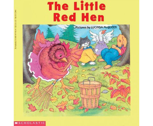Little Red Hen (Reissue) (Paperback) - image 1 of 1
