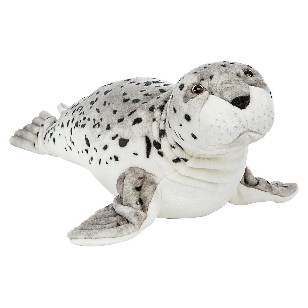 Melissa & Doug Giant Seal - Lifelike Stuffed Animal (nearly 3 feet long)