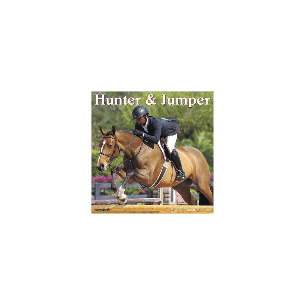 Hunter & Jumper 2019 Calendar - (Paperback)