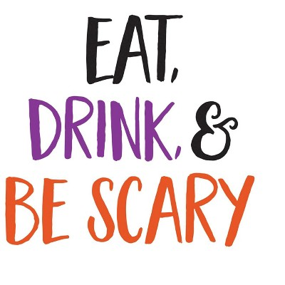 Evergreen Paper Cocktail Napkin 20 count Eat Drink and Be Scary