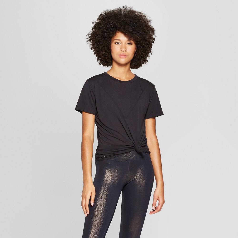 Women's Mesh Back T-Shirt - JoyLab Black L