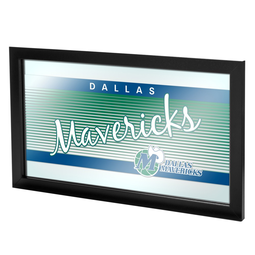 Dallas Mavericks Team Logo Wall Mirror, Multicolored