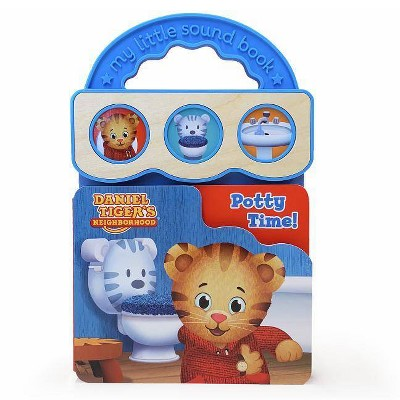 Potty Time! (Daniel Tiger's Neighborhood Interactive Take-Along Children's Sound Book) - by Scarlett Wing (Board Book)