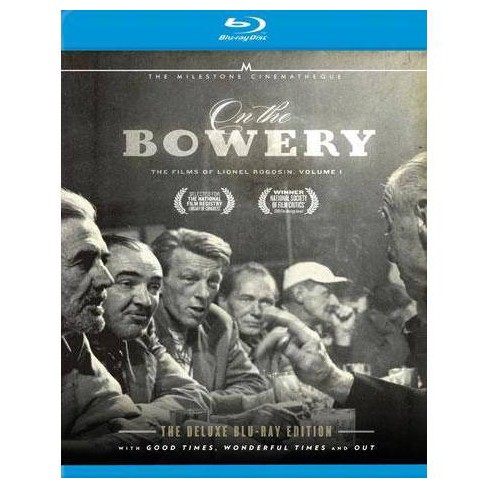 On The Bowery: The Films of Lionel Rogosin Volume 1 (Blu-ray) - image 1 of 1