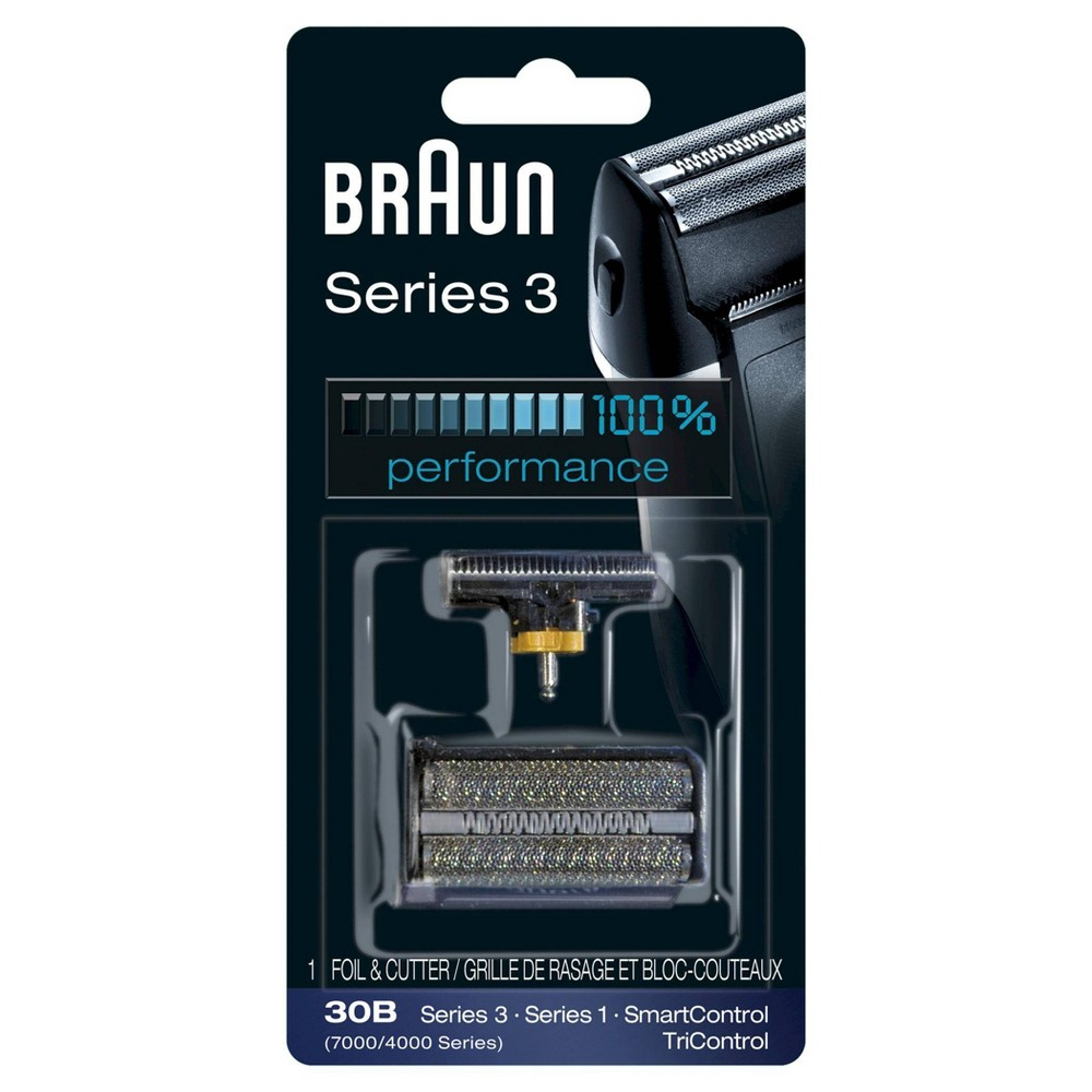 Braun Shaver Replacement Part 30 B Black - Compatible with Series 3 shavers Get your shaver back to 100 percent performance with the Braun Series 3 30b replacement head. Braun recommends changing your shaver's blades every 18 months to maximize shaving performance and comfort. With this replacement head you will get back to the superior close shave you have come to expect from Braun. Get more details at Visit Braun Website. Gender: Male.