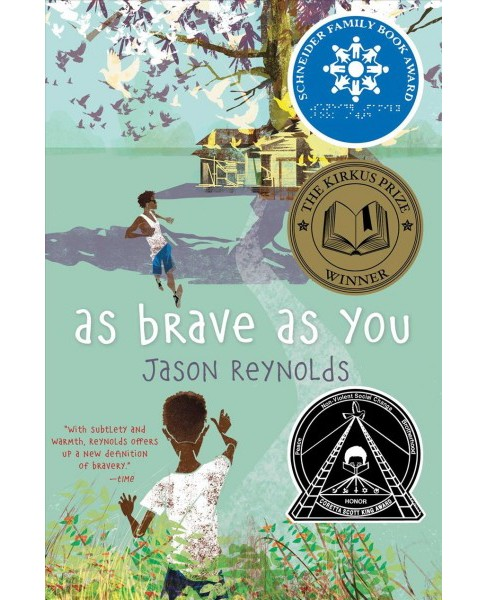 As Brave As You -  Reprint by Jason Reynolds (Paperback) - image 1 of 1