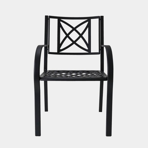 Paracelsus Outdoor Patio Aluminum Chairs (Set of 2) - image 1 of 2