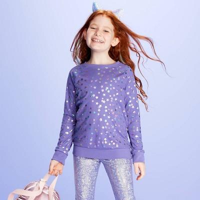 Girls' Long Sleeve Sweatshirt   More Than Magic™ Purple by More Than Magic