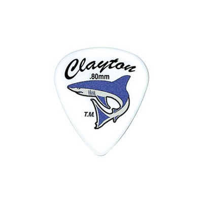 Clayton Sand Shark Acetal Grip Guitar Pick