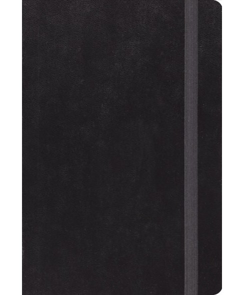 Holy Bible : English Standard Verson Bible, Black With Strap (Hardcover) - image 1 of 1
